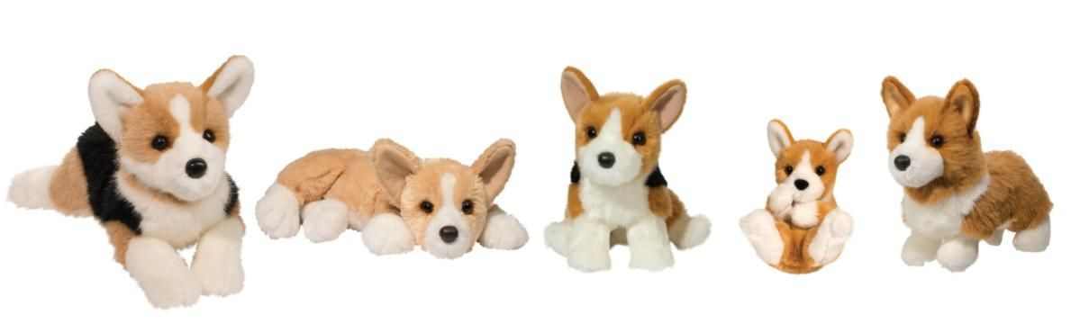 Stuffed Corgi pic for TTF website
