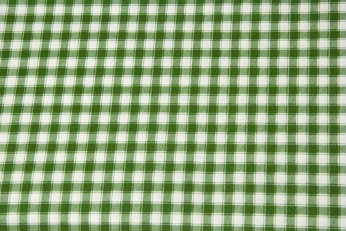 fabric garden. Childs-garden-of-verses-fabric-green-gingham-1323- Fabric Garden T